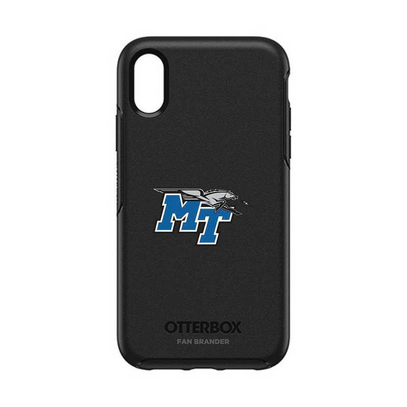 IPH-XR-BK-SYM-MTN-D101: FB OB IPHONE XR BLK Middle Tennessee State