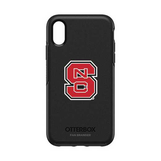 IPH-XR-BK-SYM-NCS-D101: FB OB IPHONE XR BLK North Carolina State