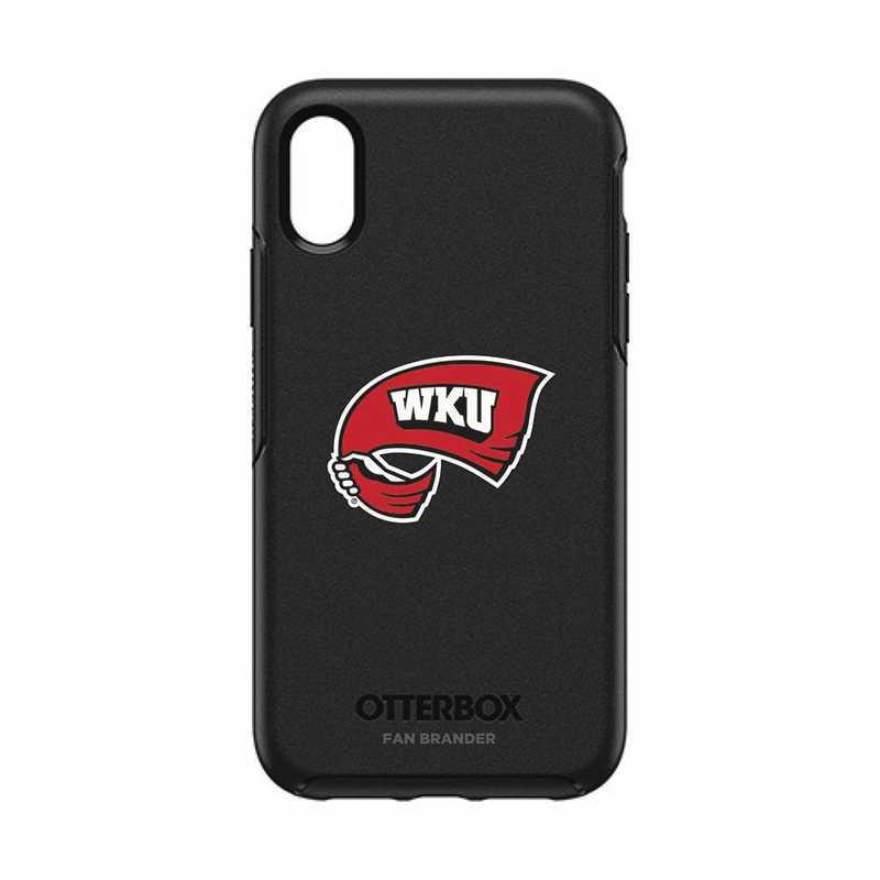 IPH-XR-BK-SYM-WKU-D101: FB OB IPHONE XR BLK Western Kentucky