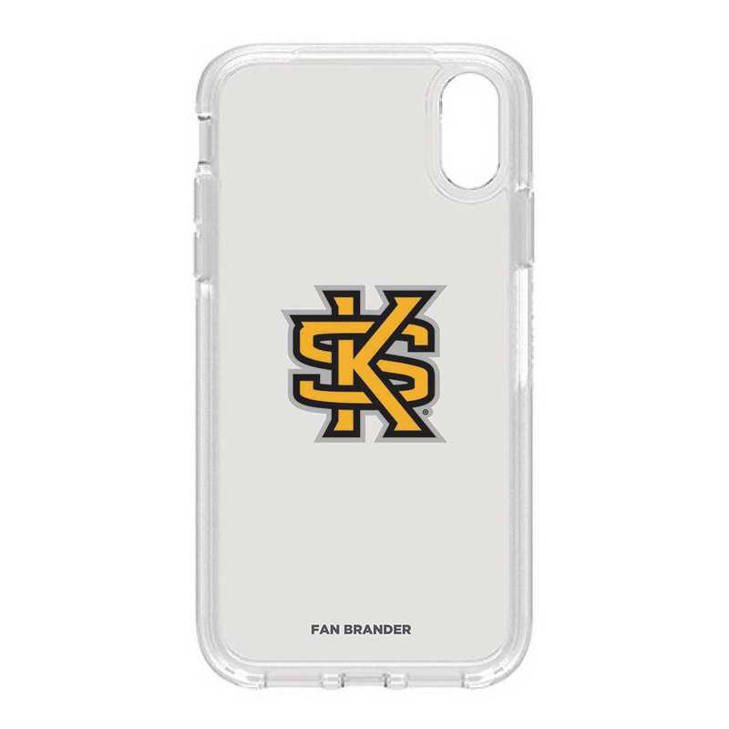 IPH-XR-CL-SYM-KSUA-D101: FB OB IPHONE XR CLR Kennesaw State