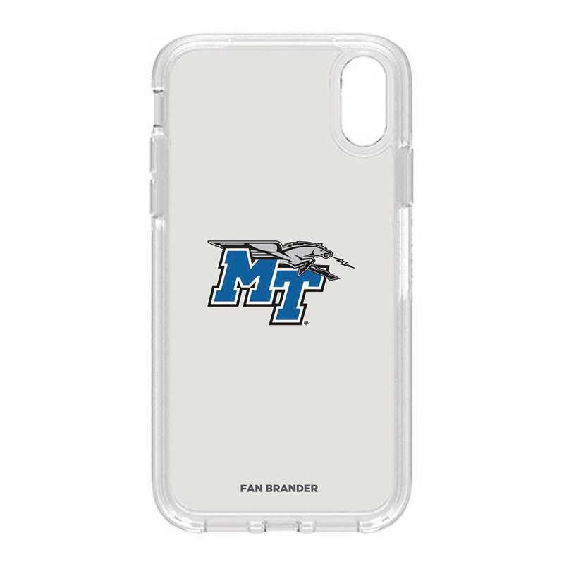 IPH-XR-CL-SYM-MTN-D101: FB OB IPHONE XR CLR Middle Tennessee State