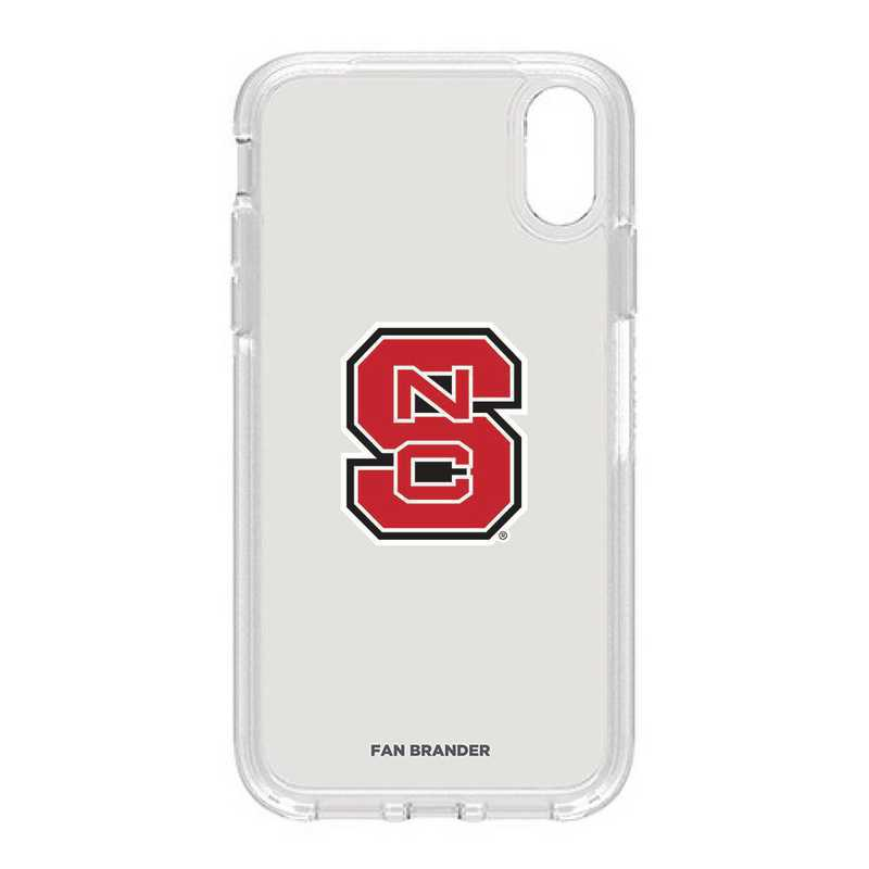 IPH-XR-CL-SYM-NCS-D101: FB OB IPHONE XR CLR North Carolina State