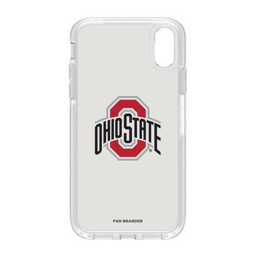 IPH-XR-CL-SYM-OHS-D101: FB OB IPHONE XR CLR Ohio State