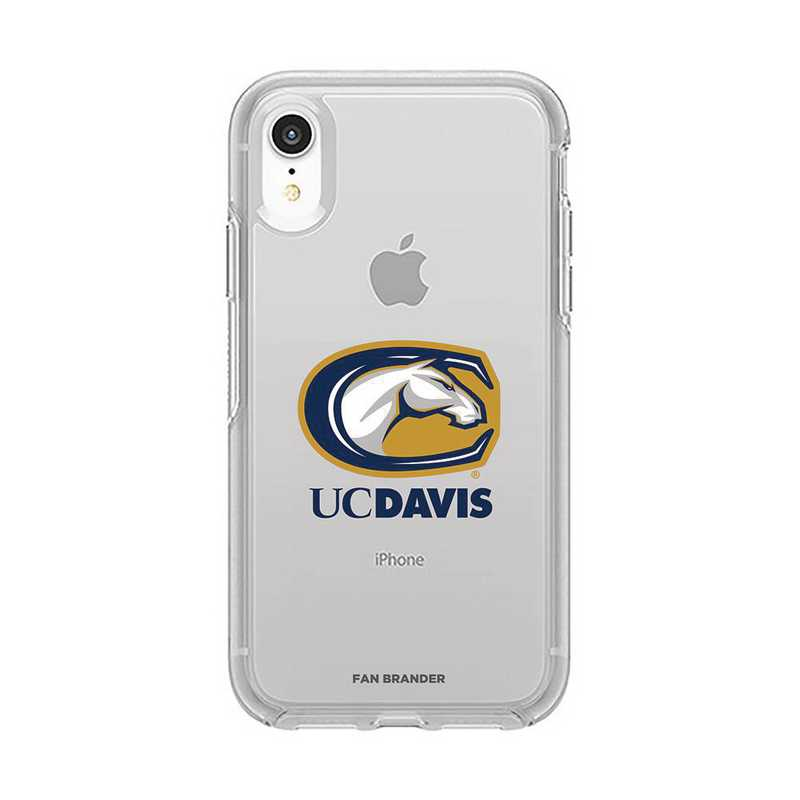 IPH-XR-CL-SYM-UCD-D101: FB OB IPHONE XR CLR California-Davis