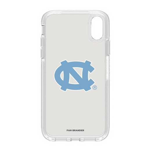 IPH-XR-CL-SYM-UNC-D101: FB OB IPHONE XR CLR North Carolina
