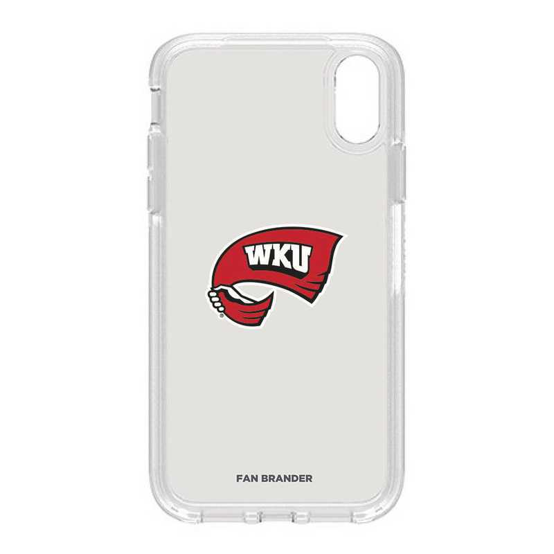 IPH-XR-CL-SYM-WKU-D101: FB OB IPHONE XR CLR Western Kentucky