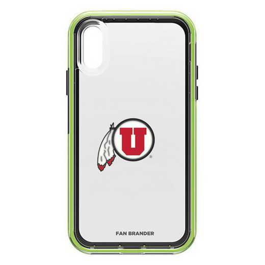 IPH-XR-NF-SLA-UT-D101: Utah Utes LifeProof iPhone XR SLAM