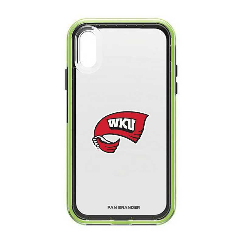IPH-XR-NF-SLA-WKU-D101: Western Kentucky Hilltoppers LifeProof iPhone XR SLAM
