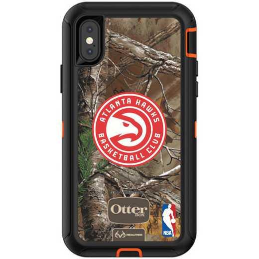 IPH-XR-RT-DEF-ATL-D101: BL Atlanta Hawks Otterbox iPhone XR Defender