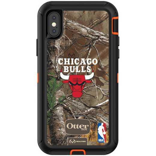 IPH-XR-RT-DEF-CHBL-D101: BL Chicago Bulls Otterbox iPhone XR Defender