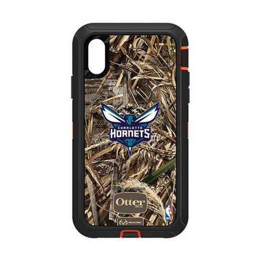 IPH-XR-RT-DEF-CHH-D101: BL Charlotte Hornets Otterbox iPhone XR Defender