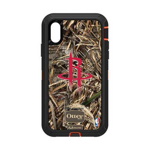 IPH-XR-RT-DEF-HOR-D101: BL Houston Rockets Otterbox iPhone XR Defender