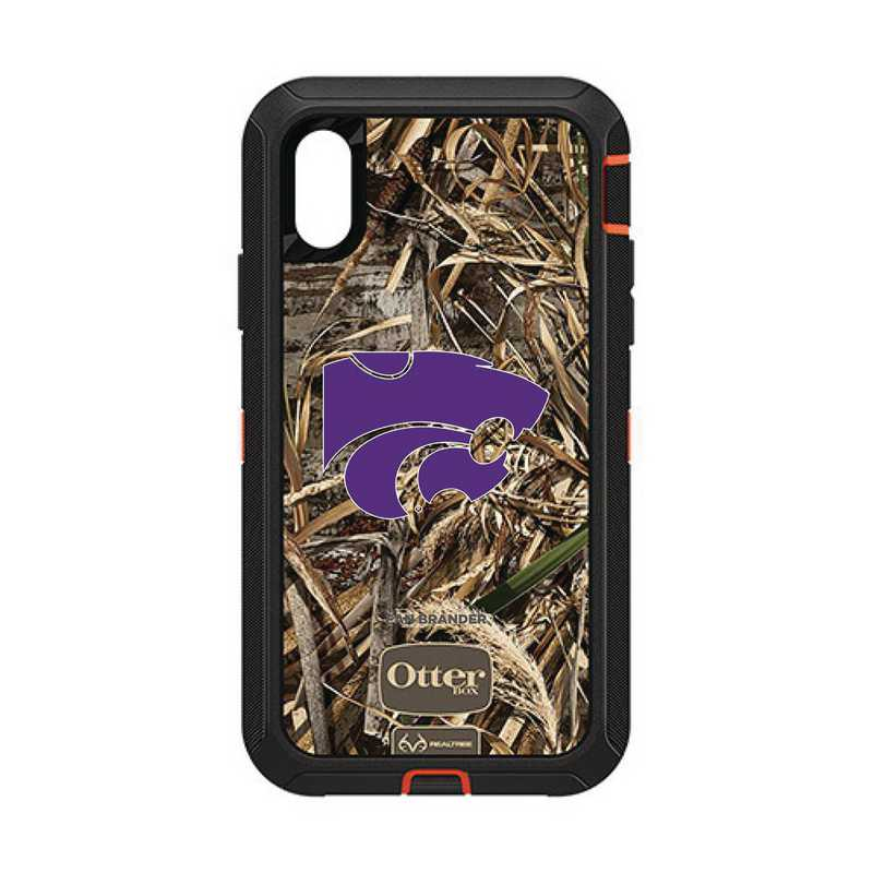 IPH-XR-RT-DEF-KST-D101: FB OB IPHONE XR RT Kansas State