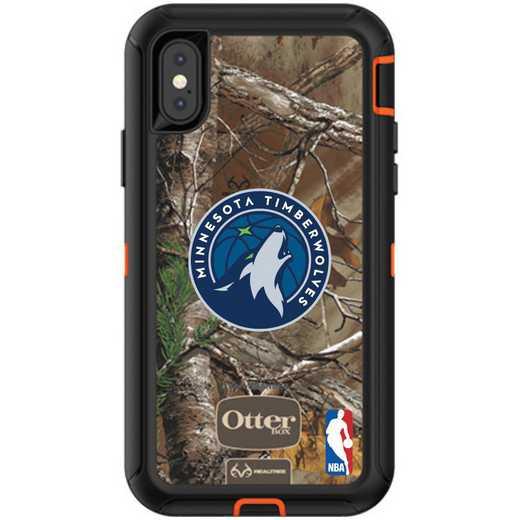 IPH-XR-RT-DEF-MNT-D101: BL Minnesota Timberwolves Otterbox iPhone XR Defender