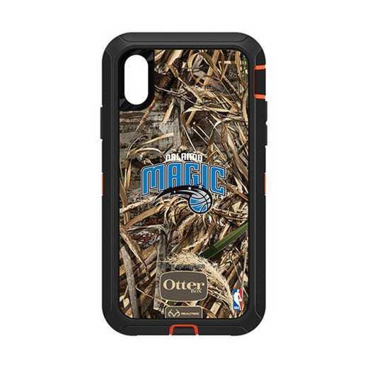 IPH-XR-RT-DEF-ORM-D101: BL Orlando Magic Otterbox iPhone XR Defender