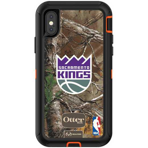 IPH-XR-RT-DEF-SAC-D101: BL Sacramento Kings Otterbox iPhone XR Defender