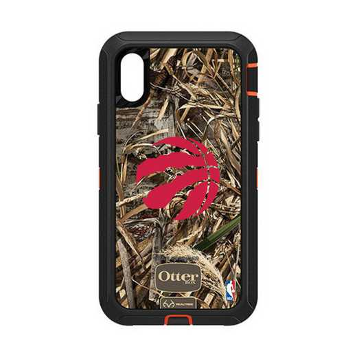 IPH-XR-RT-DEF-TOR-D101: BL Toronto Raptors Otterbox iPhone XR Defender