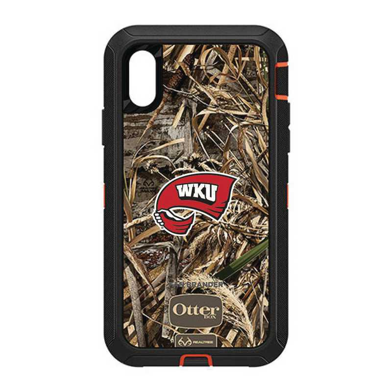 IPH-XR-RT-DEF-WKU-D101: FB OB IPHONE XR RT Western Kentucky