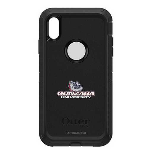 IPH-XSM-BK-DEF-GON-D101: FB OB iPhone XS Max BLK Gonzaga