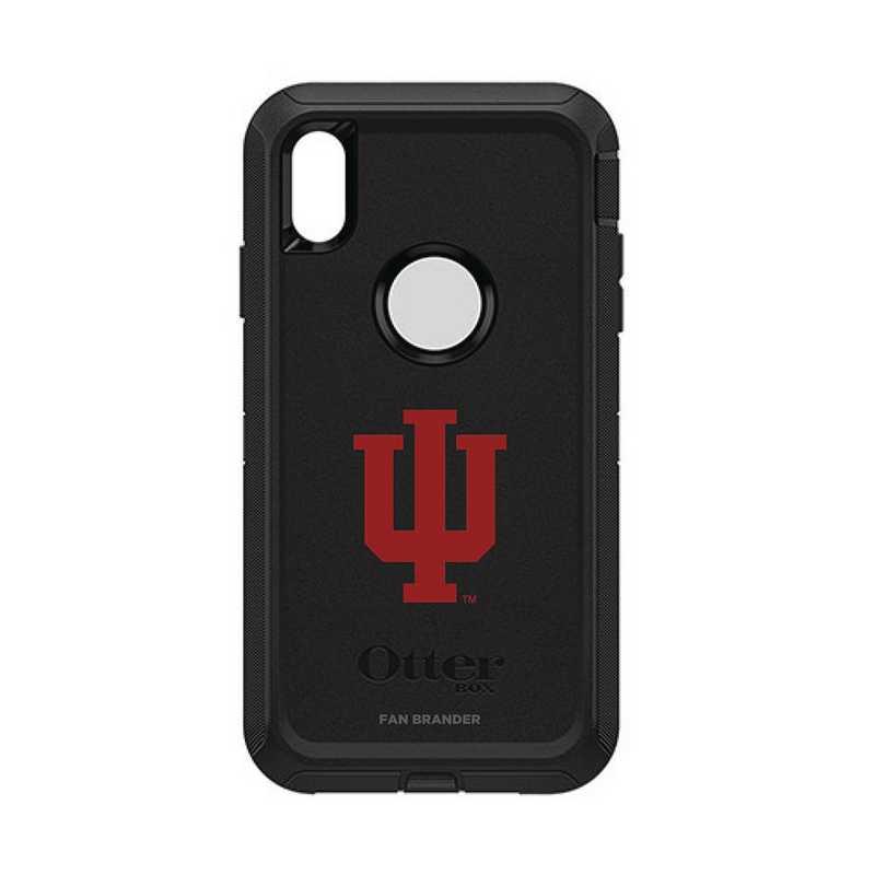 IPH-XSM-BK-DEF-IU-D101: FB OB iPhone XS Max BLK Indiana