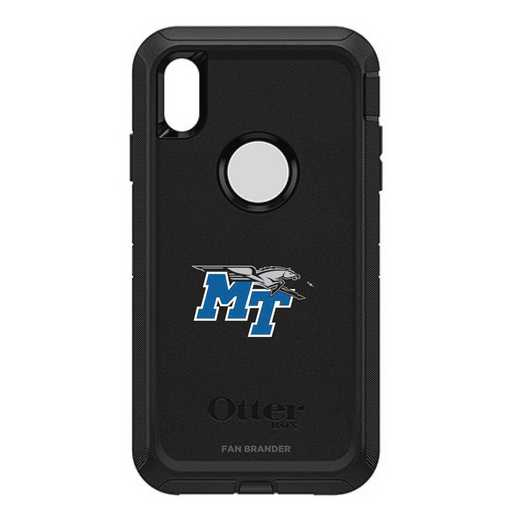 IPH-XSM-BK-DEF-MTN-D101: FB OB iPhone XS Max BLK Middle Tennessee State