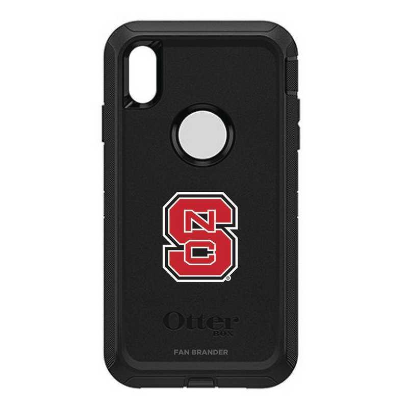 IPH-XSM-BK-DEF-NCS-D101: FB OB iPhone XS Max BLK North Carolina State