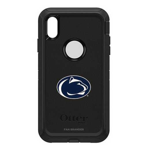 IPH-XSM-BK-DEF-PST-D101: FB OB iPhone XS Max BLK Pennsylvania State