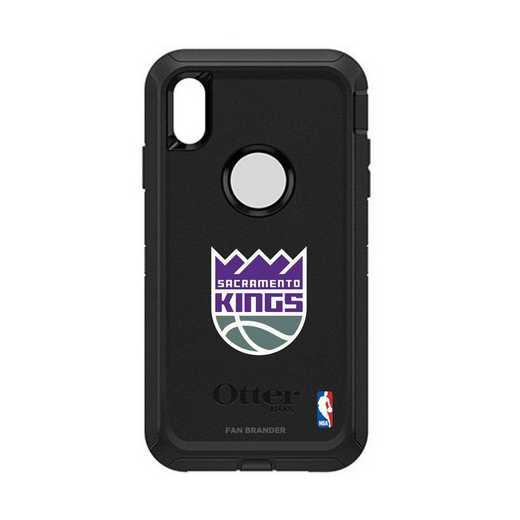 IPH-XSM-BK-DEF-SAC-D101: BL Sacramento Kings Otterbox iPhone XS Max Defender