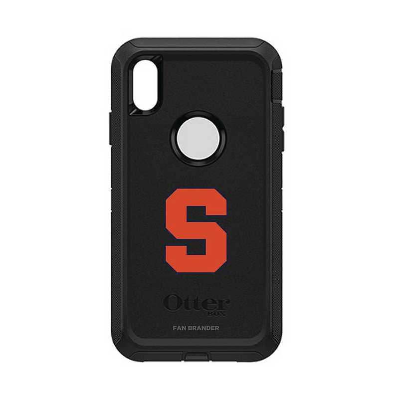 IPH-XSM-BK-DEF-SYU-D101: FB OB iPhone XS Max BLK Syracuse