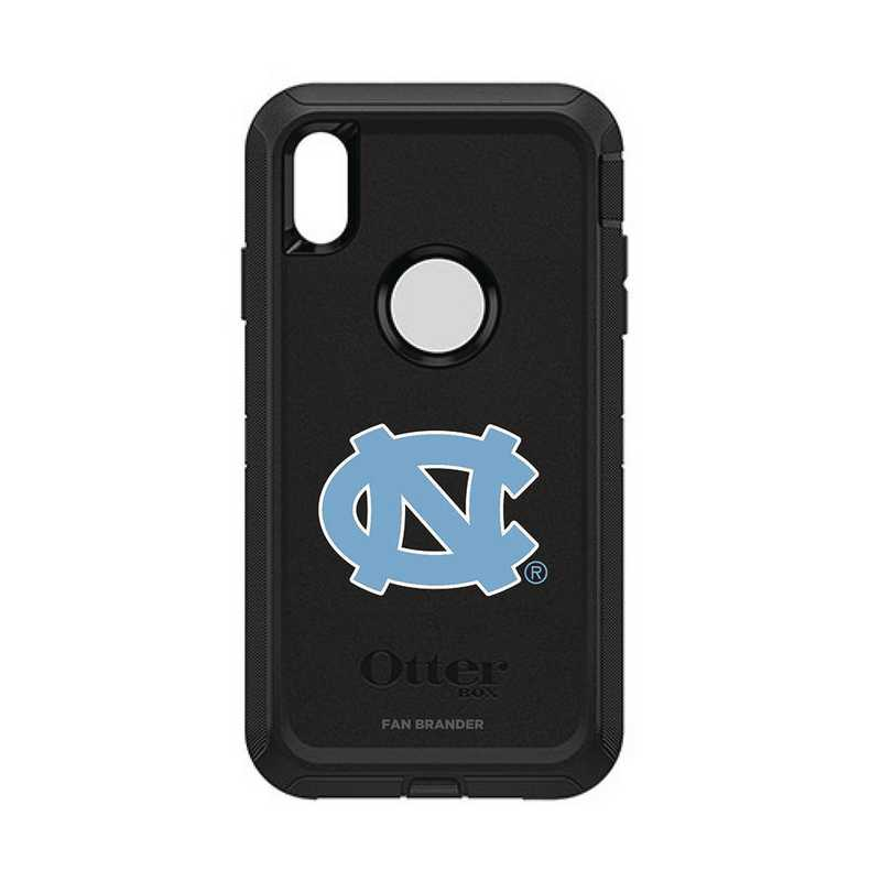 IPH-XSM-BK-DEF-UNC-D101: FB OB iPhone XS Max BLK North Carolina