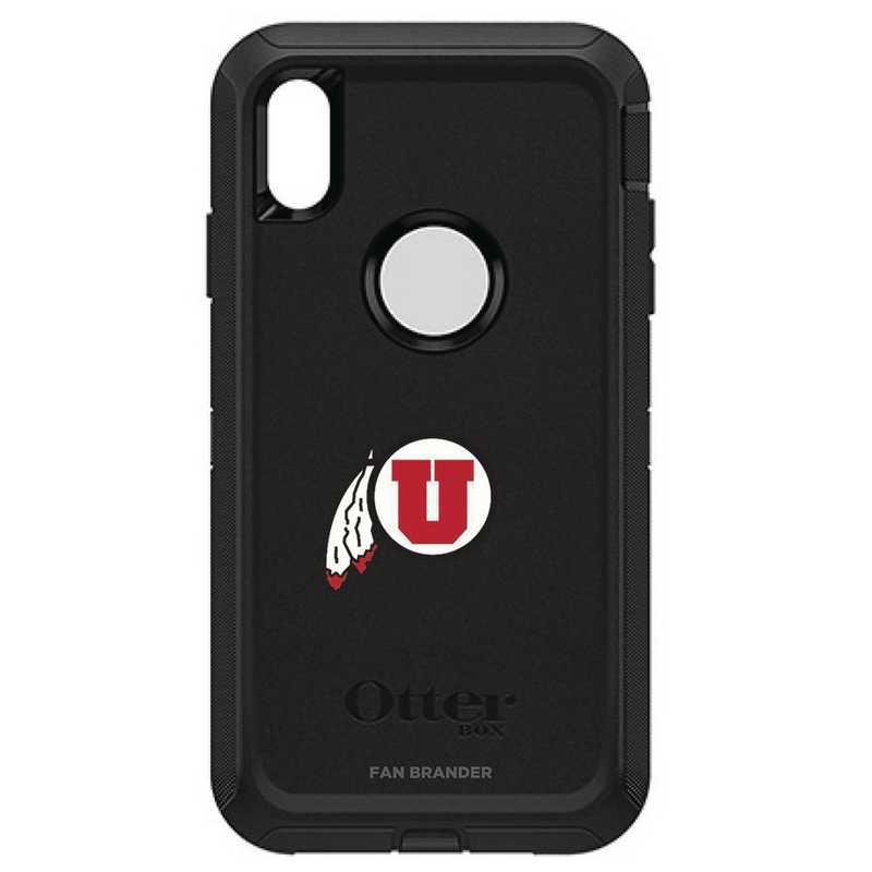 IPH-XSM-BK-DEF-UT-D101: FB OB iPhone XS Max BLK Utah