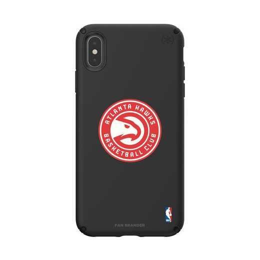 IPH-XSM-BK-PRE-ATL-D101: BL Speck Presido iPhone XS Max, Atlanta Hawks