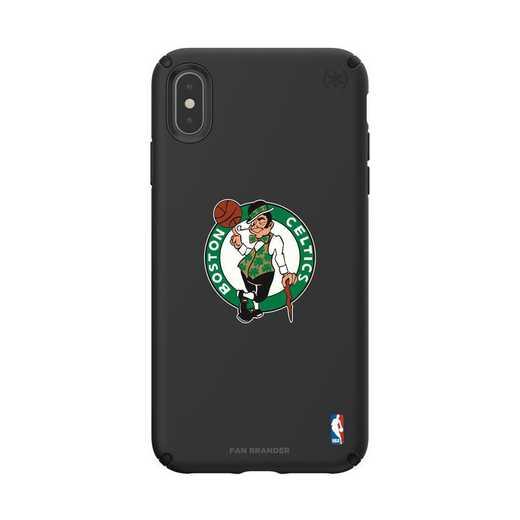 IPH-XSM-BK-PRE-BOS-D101: BL Speck Presido iPhone XS Max, Boston Celtics