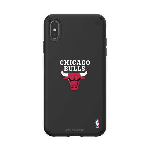 IPH-XSM-BK-PRE-CHBL-D101: BL Speck Presido iPhone XS Max, Chicago Bulls