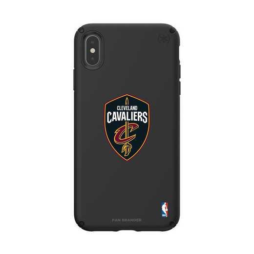 IPH-XSM-BK-PRE-CLC-D101: BL Speck Presido iPhone XS Max, Cleveland Cavaliers
