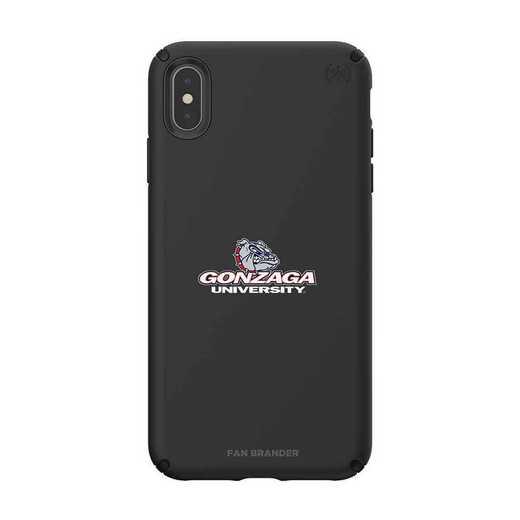 IPH-XSM-BK-PRE-GON-D101: Gonzaga Bulldogs Speck iPhone XS Max Presidio Pro