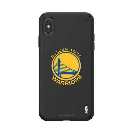 IPH-XSM-BK-PRE-GST-D101: BL Speck Presido iPhone XS Max, Golden State Warriors