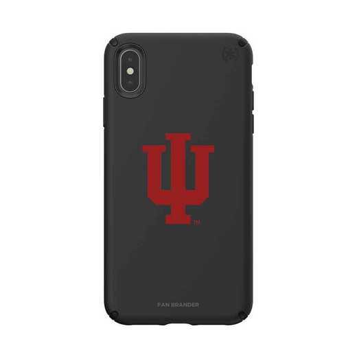 IPH-XSM-BK-PRE-IU-D101: Indiana Hoosiers Speck iPhone XS Max Presidio Pro