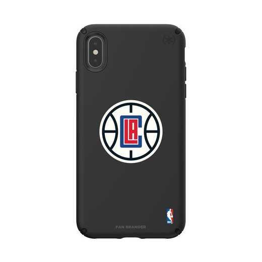 IPH-XSM-BK-PRE-LAC-D101: BL Speck Presido iPhone XS Max, LA Clippers