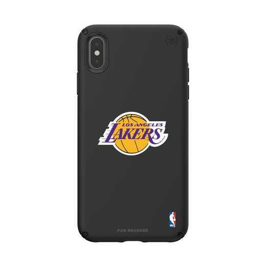 IPH-XSM-BK-PRE-LAL-D101: BL Speck Presido iPhone XS Max, LA Lakers