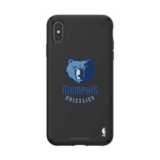 IPH-XSM-BK-PRE-MG-D101: BL Speck Presido iPhone XS Max, Memphis Grizzlies