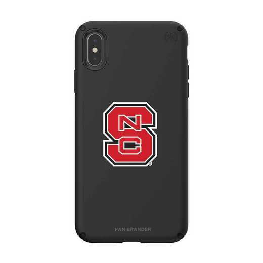 IPH-XSM-BK-PRE-NCS-D101: NC State Wolfpack Speck iPhone XS Max Presidio Pro