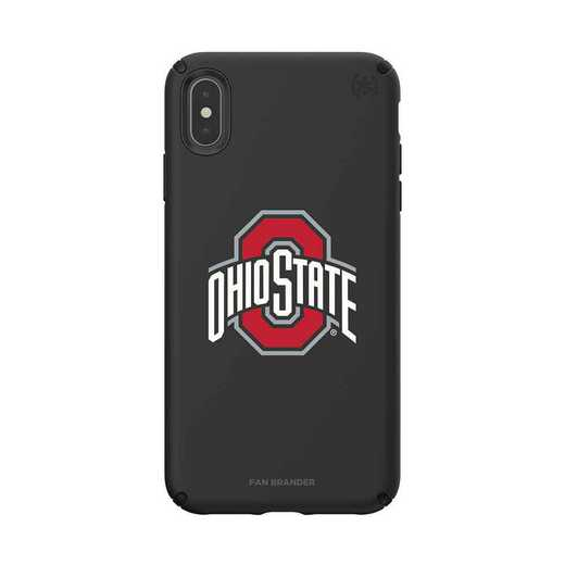 IPH-XSM-BK-PRE-OHS-D101: Ohio State Buckeyes Speck iPhone XS Max Presidio Pro