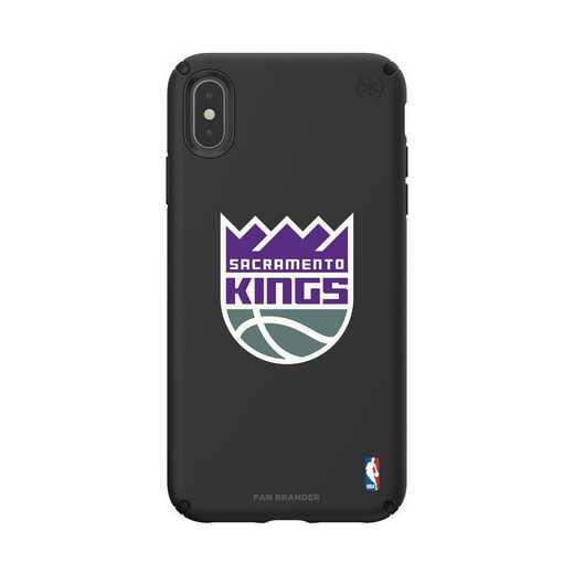 IPH-XSM-BK-PRE-SAC-D101: BL Speck Presido iPhone XS Max, Sacramento Kings