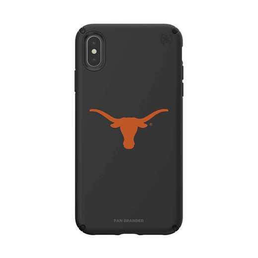 IPH-XSM-BK-PRE-TEX-D101: Texas Longhorns  Speck iPhone XS Max Presidio Pro