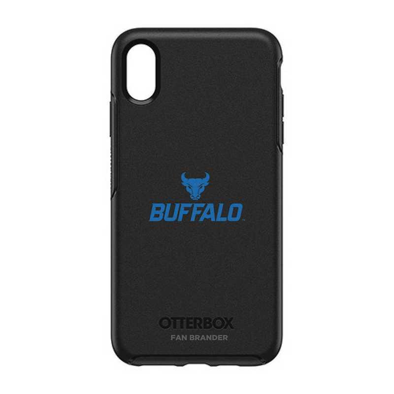 IPH-XSM-BK-SYM-BUFB-D101: FB OB iPhone XS Max BLK Buffalo