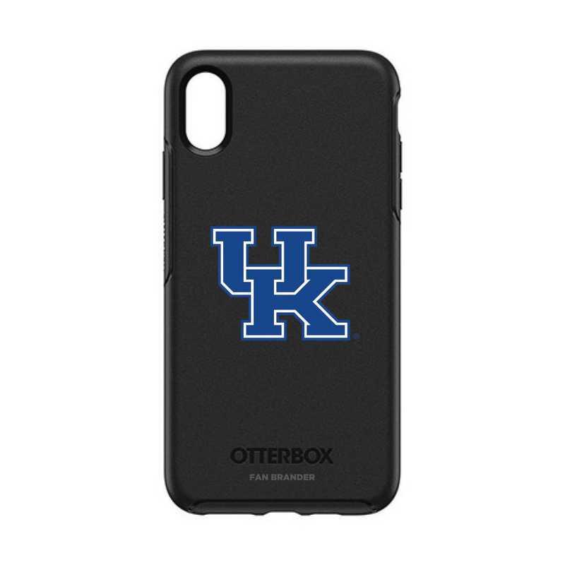 IPH-XSM-BK-SYM-KY-D101: FB OB iPhone XS Max BLK Kentucky