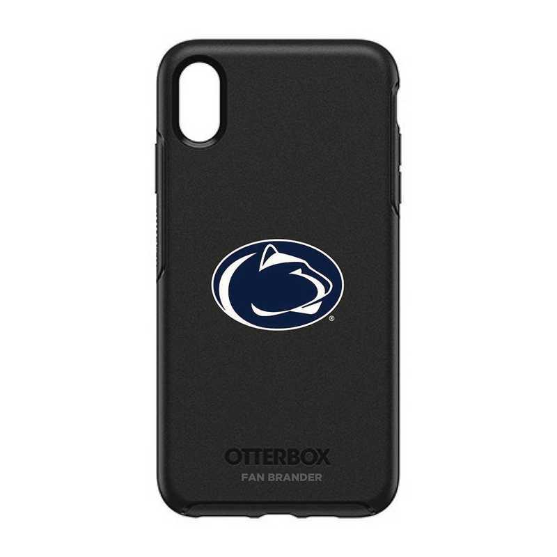 IPH-XSM-BK-SYM-PST-D101: FB OB iPhone XS Max BLK Pennsylvania State