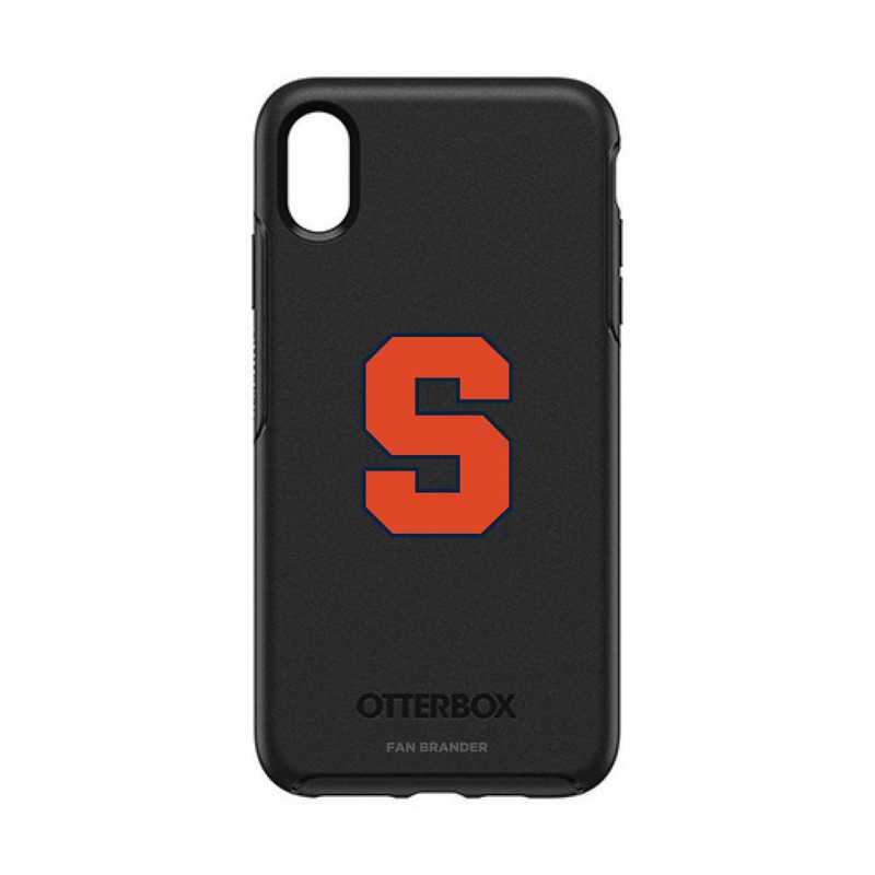 IPH-XSM-BK-SYM-SYU-D101: FB OB iPhone XS Max BLK Syracuse