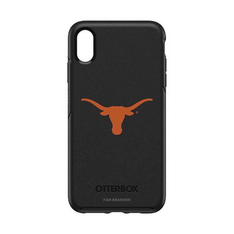 IPH-XSM-BK-SYM-TEX-D101: FB OB iPhone XS Max BLK Texas